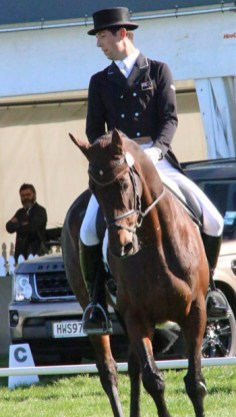 CIC2* leader Clarke Johnstone and Orient Express.