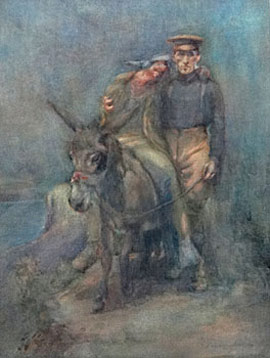 The Horace Moore-Jones painting.