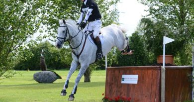 Cooley Farm CCI1* Young Horse Class winners, William Fox-Pitt and The Soapdodger.