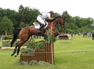 Kevin McNab (AUS) and Fernhill Quality Street were the only combination to take the alternative at 28 a/b/c.