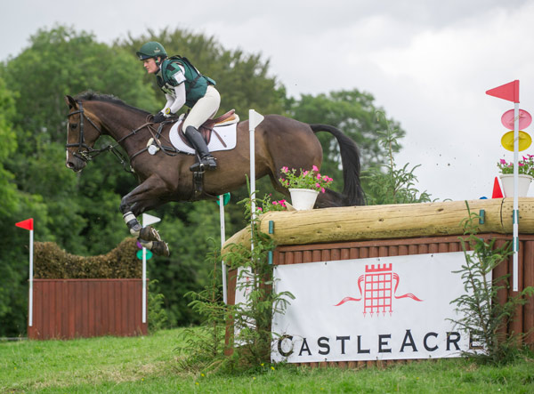 Ireland's Clare Abbott won the CIC2* on Glenkeeran River (ISH).