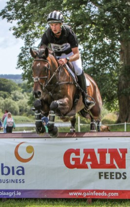 New Zealand's Jesse Campbell rode Cleveland to second place in the CCI2*.