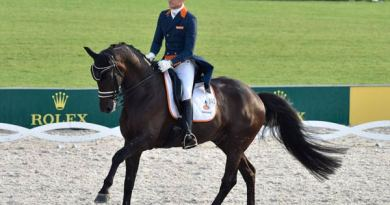 Winning Dutch team member Edward Gal and Glock's Undercover posted a score of 82.229 to take second on the individual leaderboard.
