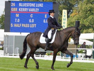 Kerry Varley (GBR) and Bluestone Luke