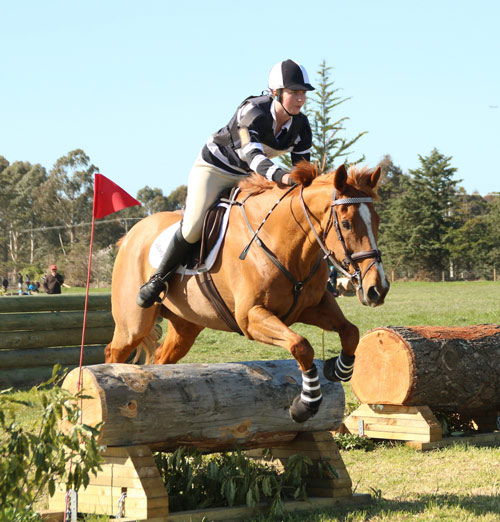 Megan Haylock and Lucky (Waihora-Ferrymead)