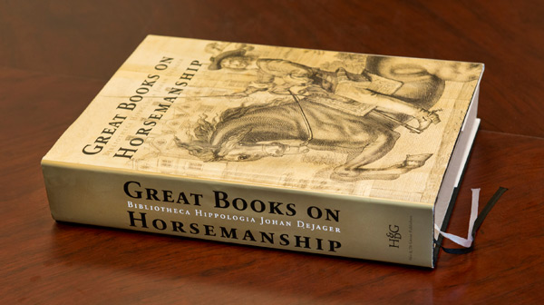 Great Books on Horsemanship thoroughly catalogues Dejager's stellar collection of horse books.
