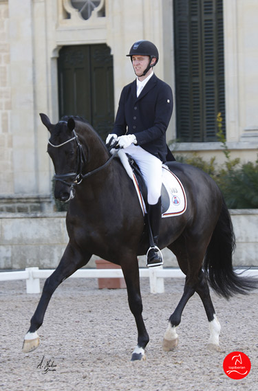 Sönke Rothenberger and Ganymedes 10 won the six-year-old class.