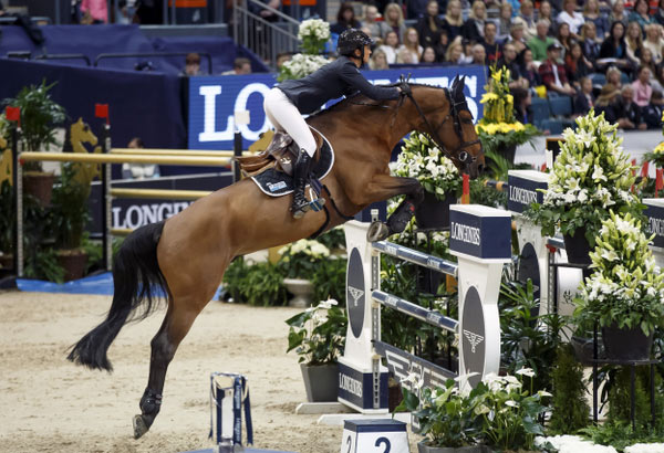 French rider Penelope Leprevost rode Vagabond de la Pomme to victory in the opening competition at the Longines FEI World Cup Jumping 2016 Final in Gothenburg, Sweden, on Saturday night.