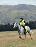Ashley Cole and Kahuna Moon were third in the 160km.