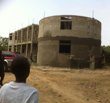 Another £20,000 is needed to complete the equine hospital in Gambia.