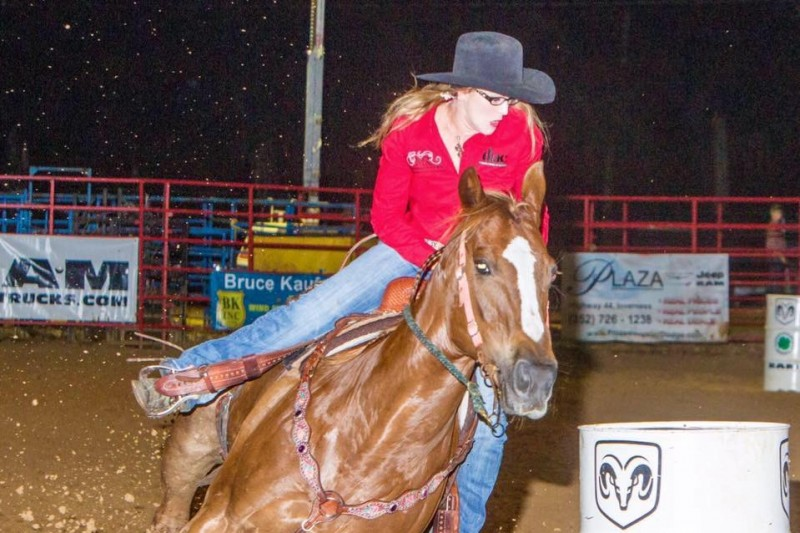 Freak accident claims life of pro barrel racer at US rodeo