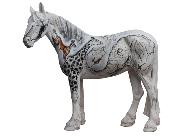 South African horse Imvula features onJoseph Paxton's work.