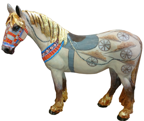 The story of Cambodian working horse Mesorfeatures on the work byCambodian working horse Mesor.