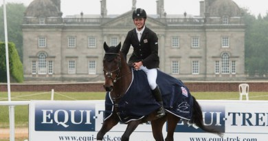 Young Rider CCI2* winners Will Furlong and Livingstone II.