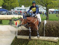Owen Cooper (GBR) and Supa Splashdown, 13th in the Section C CCI3*.
