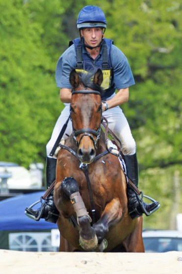 Tim Price (NZL) and Obos Cooley, 30th in the CIC3* Section B.