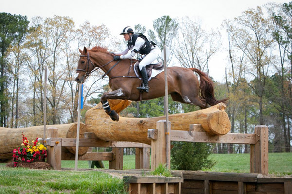 Eventing action at The Fork International Horse Trial in 2015.