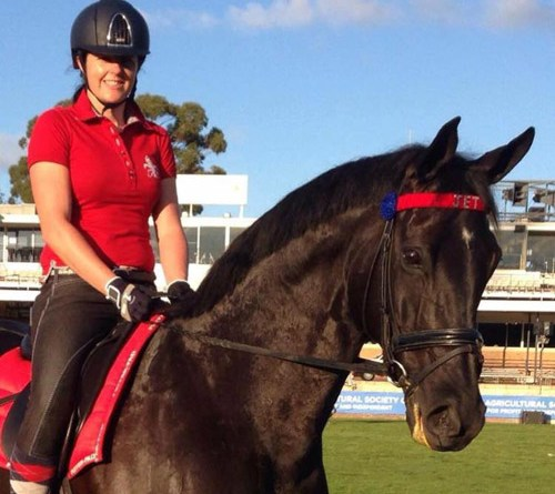 Hana Dickson died on Saturday morning after a riding accident.