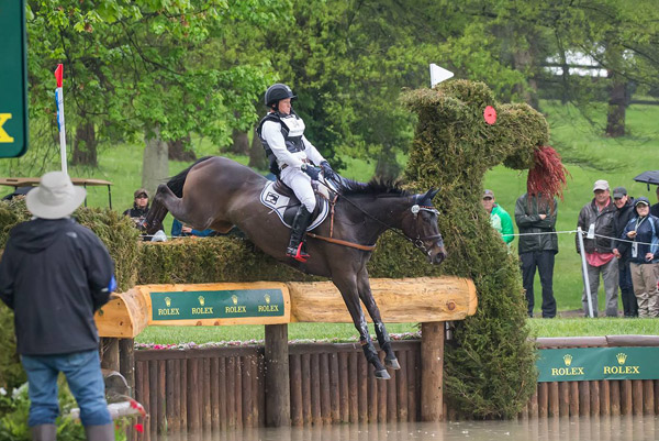 Germany's Michael Jung and Fischerrocana lead after the cross-country phase of the RK3DE.