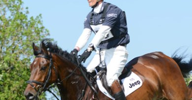 William Fox-Pitt and Little Fire won the CCI1* Young Horse Class at Tattersalls on Saturday.