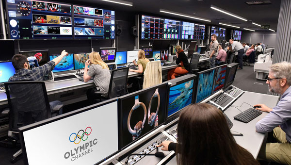 The new Olympic Channel has more than 60 staff members.