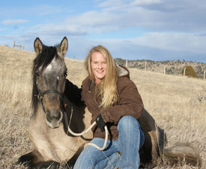 Twinney is a 20-plus year veteran of gentle horse training methodology.