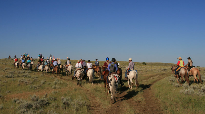 Riders on this year's Chief Joseph Ride reached the end of the trail, a 13-year odyssey.