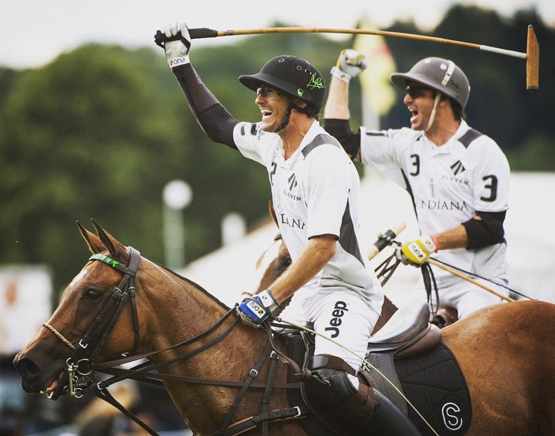 Nic Roldan and Agustin Merlos celebrating their Jaeger-LeCoultre Gold Cup Semi Final Win - La Indiana vs Zacara.