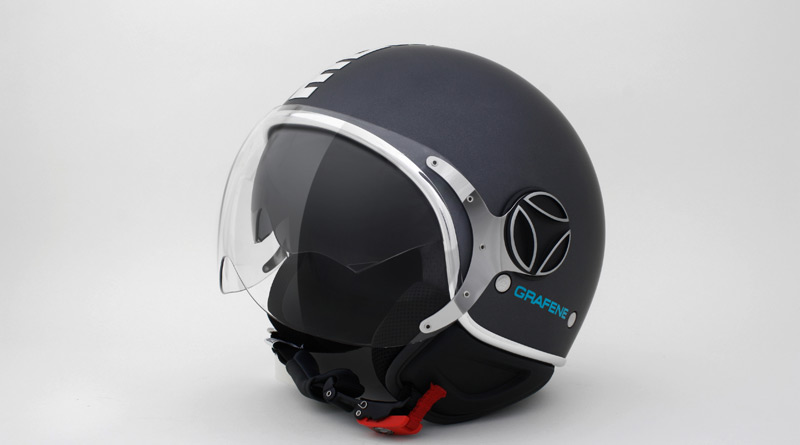 The new Graphene Helmet by IIT and Momodesign 1.