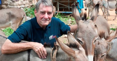 Geoffrey Dennis is the new chief executive of Spana (the Society for the Protection of Animals Abroad).
