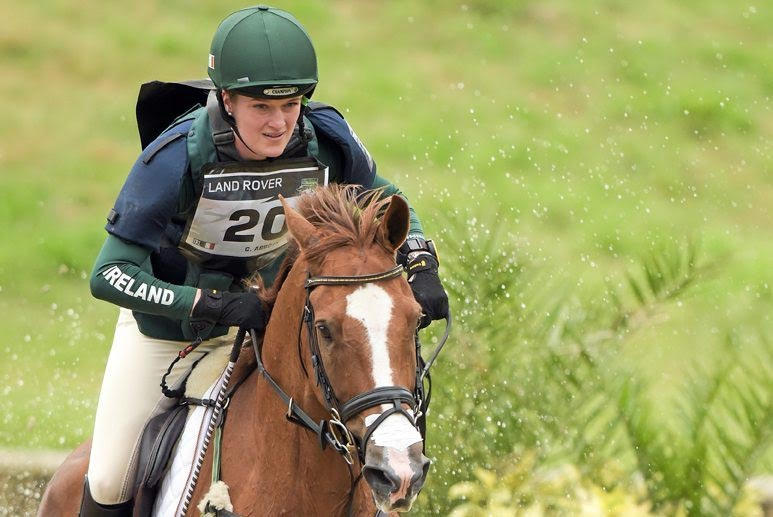Ireland's Clare Abbott and Euro Prince have moved up to 11th place.