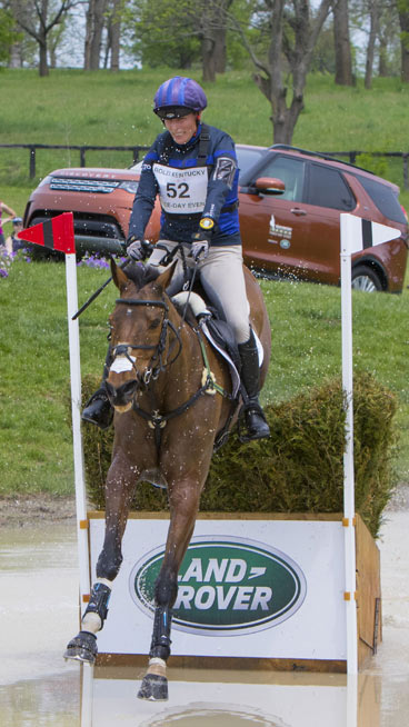 Land Rover Ambassador Zara Tindall thrilled the event sponsors to finish third at the RK3DE.