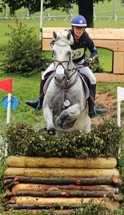 French rider Marie-Caroline Barbier finished fourth overall in the under 25 CCI3* class.