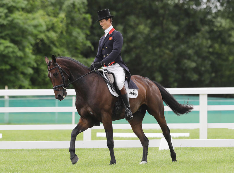 William Fox-Pitt and Shannondale Percy.