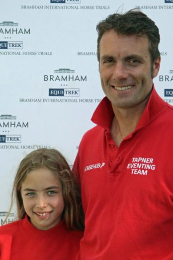 Paul Tapner with his daughter, Madison.