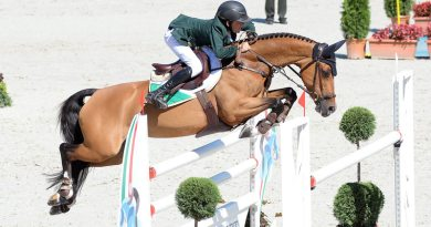 European Pony Show Jumping Champion Harry Allen with Cassandra van het Roelhof