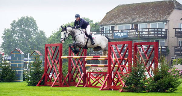 Lauren Edwards and Ella Sandra G on Hickstead's Winter Grades B & C Championship.