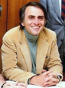 Carl Sagan in 1980.