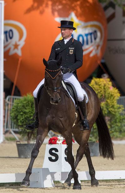 Michael Jung had to settle for silver with fischerRocana.