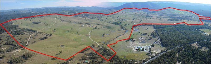 """Bandanora"" at Capertee north of Lithgow, is now owned by Racing NSW."