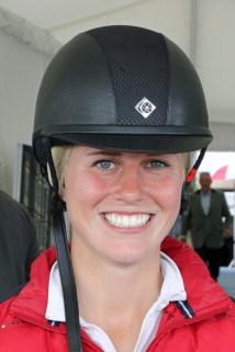Savannah Fulton (USA), who ride Captain Jack.
