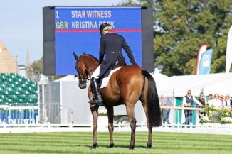 Kristina Cook and Star Witness.