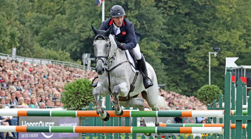 Ballaghmor Class wins Oliver Townend his first four-star since 2009, heading a British top four at Burghley at the weekend.