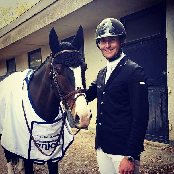 Jesse Campbell and I Spye at the World Championships for Young Eventing horses at Le Lion in France.