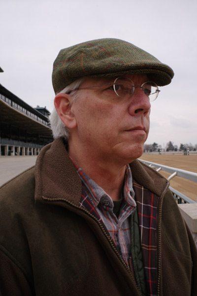 University of Illinois researcher Dr David Nash, pictured atKeeneland Race Course in Lexington, Kentucky. © Stephanni Roadarmel