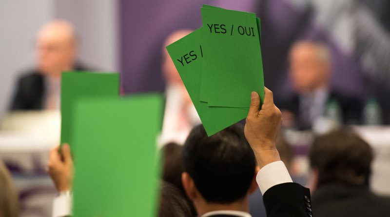 Olympic qualification and quota distribution were key areas of debate during three sessions attended yesterday by national delegates ahead of today's vote at the FEI General Assembly.