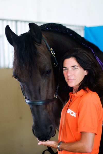 Dr Emily Weiss is the vice-president of the ASPCA's new Equine Welfare department.