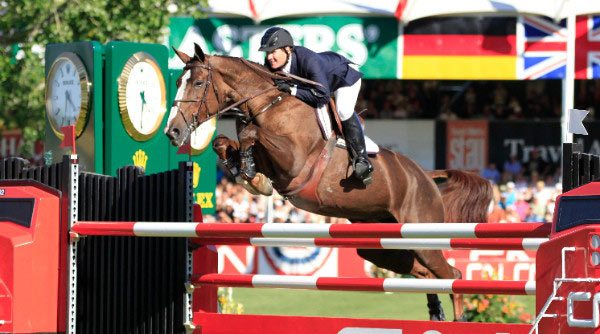 McLain Ward and Sapphire winning the 2009 CN $1 Million at Spruce Meadows.