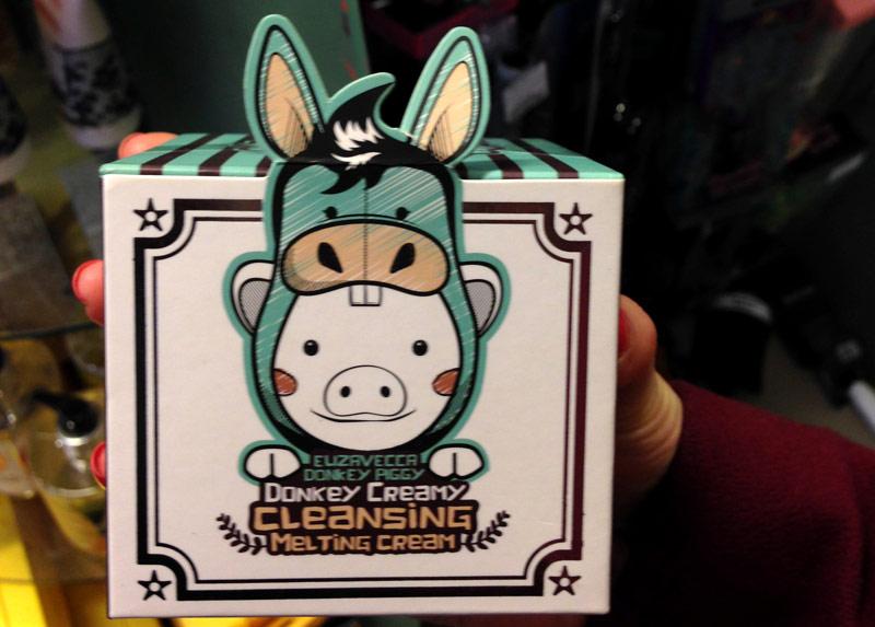 Elizavecca Donkey Creamy Cleansing Melting Cream