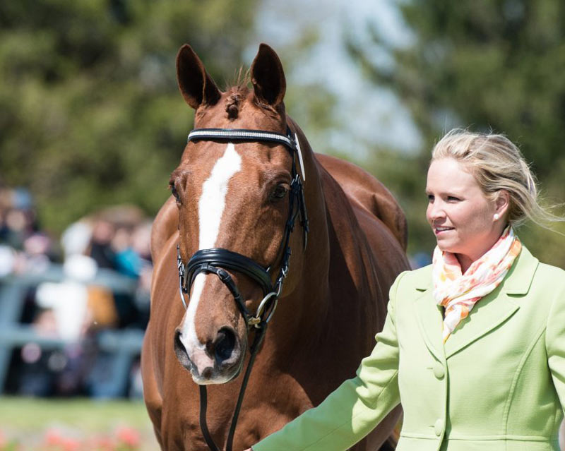 Consensus and Julie Norman at the 2015 Kentucky Three-Day Event. © USEA/Leslie Mintz